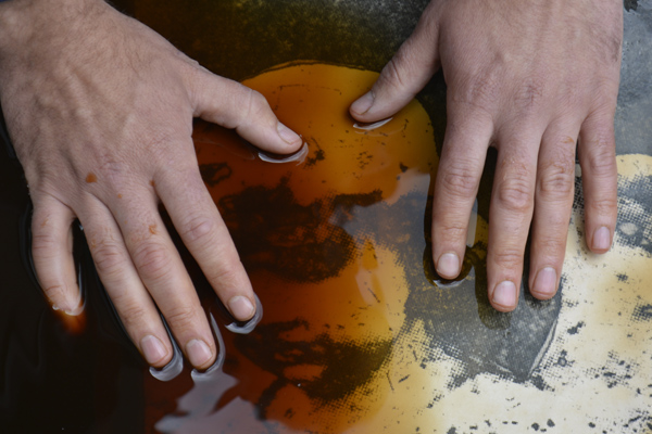 Cally Trench, Artists' Hands Photograph 55