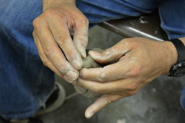 Cally Trench, Artists' Hands Photograph 58