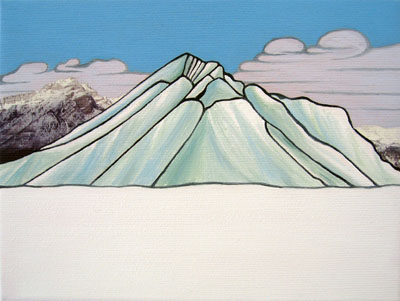 Lake Minnewanka,  after Lawren Harris by Frances Greenough
