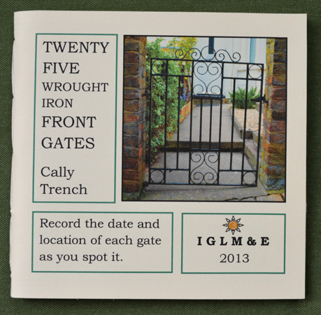 Twenty-five Wrought Iron Front Gates