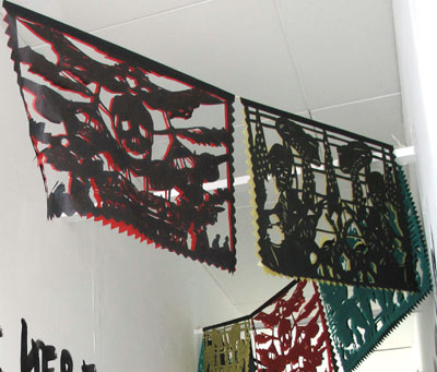 Papel Picado I by Joan Skelton Smith
