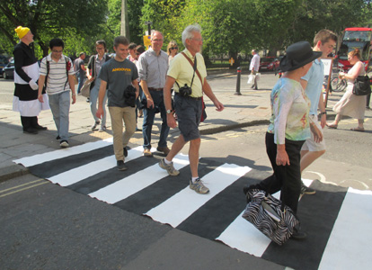 Portable Zebra Crossing Association by Ann Rapstoff, Philip Lee and Cally Trench