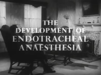 Development of Endotracheal Anaesthesia