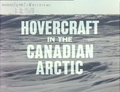 Hovercraft in the Canadian Arctic