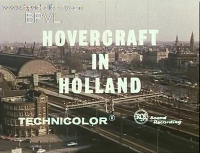 Hovercraft in Holland