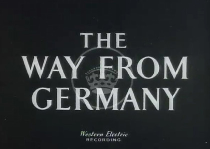 The Way from Germany